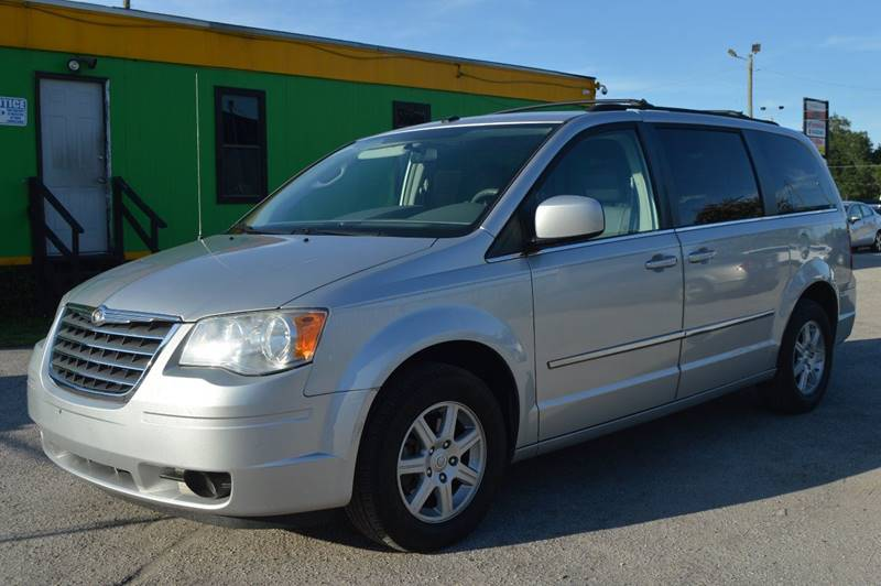 2010 CHRYSLER TOWN AND COUNTRY TOURING 4DR MINI VAN silver internet cash specialguarant