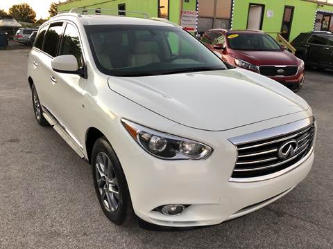 2015 Infiniti QX60 for sale at Marvin Motors in Kissimmee FL