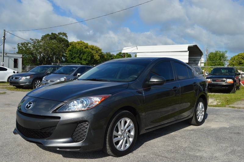2012 MAZDA MAZDA3 I TOURING 4DR SEDAN 6M gray internet cash specialguaranteed financin