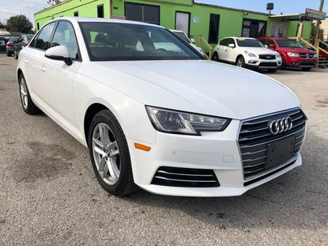 2017 Audi A4 for sale at Marvin Motors in Kissimmee FL