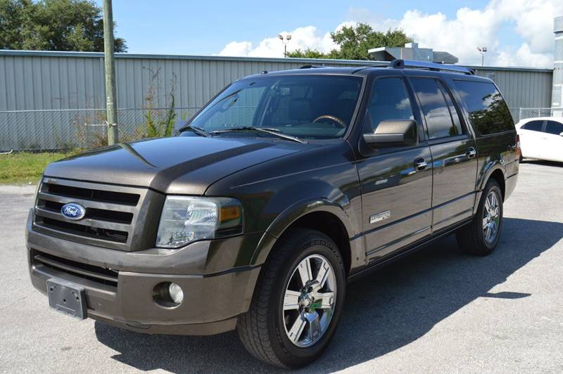2008 FORD EXPEDITION EL LIMITED 4X2 4DR SUV pewter the front windshield is in excellent condition