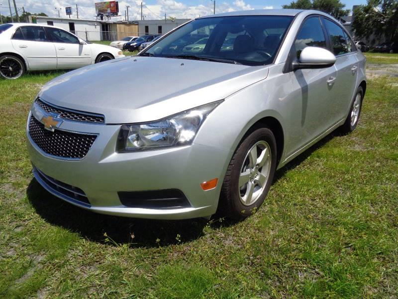 2013 CHEVROLET CRUZE 1LT AUTO 4DR SEDAN W1SD silver the front windshield is in excellent conditi