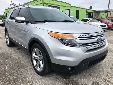 2015 Ford Explorer for sale at Marvin Motors in Kissimmee FL