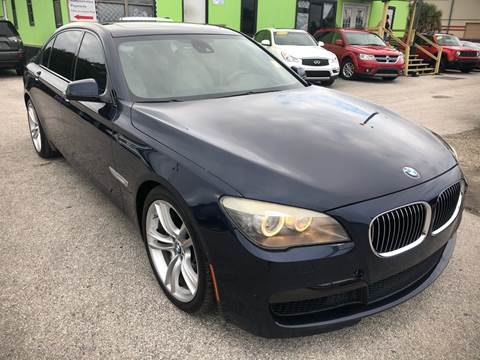 2011 BMW 7 Series for sale at Marvin Motors in Kissimmee FL