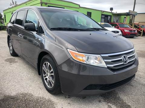 2012 Honda Odyssey for sale at Marvin Motors in Kissimmee FL