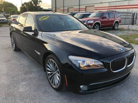 2009 BMW 7 Series for sale at Marvin Motors in Kissimmee FL
