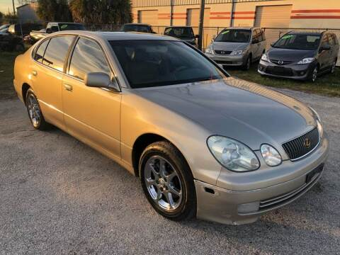 2001 Lexus GS 300 for sale at Marvin Motors in Kissimmee FL