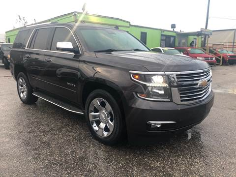 2015 Chevrolet Tahoe for sale at Marvin Motors in Kissimmee FL