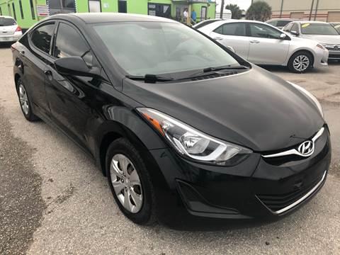 2016 Hyundai Elantra for sale at Marvin Motors in Kissimmee FL