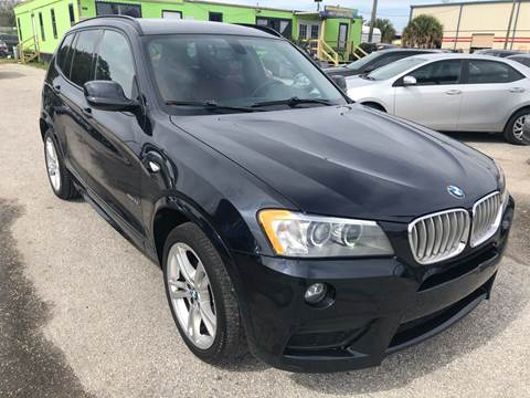 2013 BMW X3 for sale at Marvin Motors in Kissimmee FL