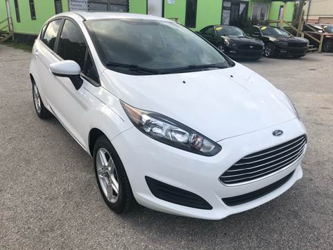 2018 Ford Fiesta for sale at Marvin Motors in Kissimmee FL