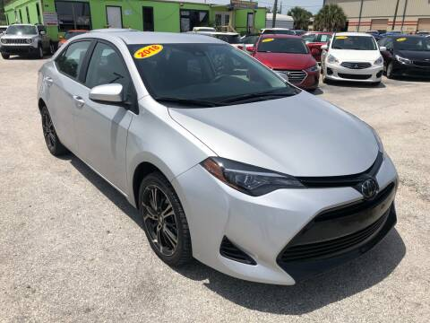 2018 Toyota Corolla for sale at Marvin Motors in Kissimmee FL