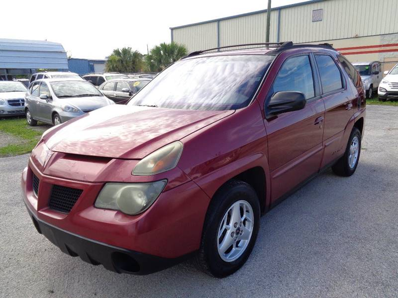 2005 PONTIAC AZTEK BASE FWD 4DR SUV burgundy internet cash specialguaranteed financing