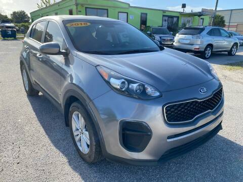 2018 Kia Sportage for sale at Marvin Motors in Kissimmee FL