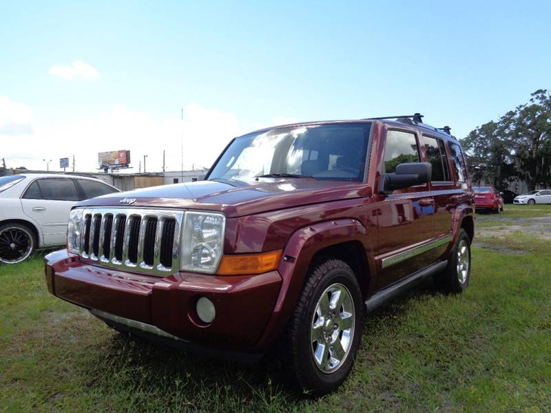 2006 JEEP COMMANDER LIMITED 4DR SUV red internet cash specialguaranteed financing avai