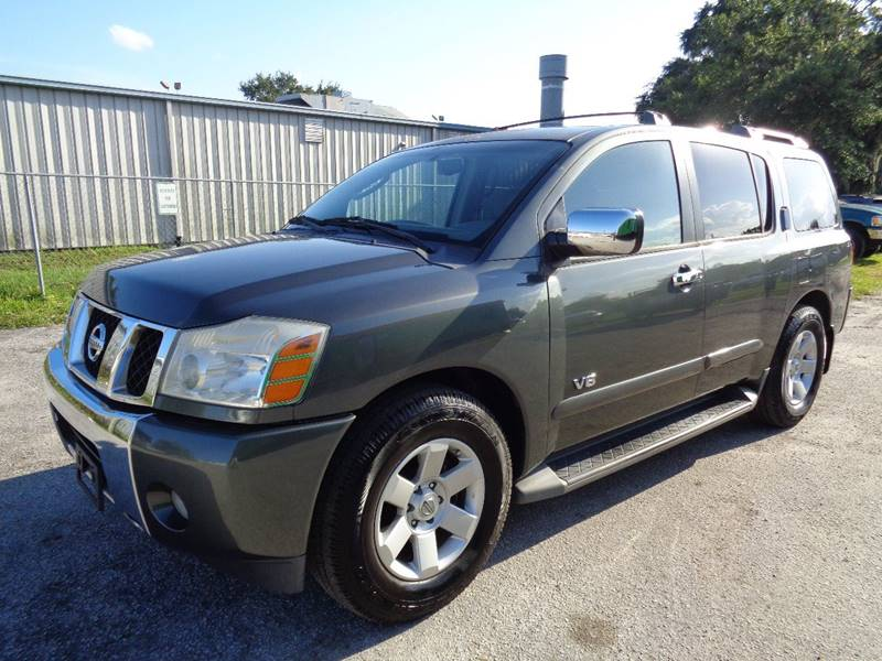 2007 NISSAN ARMADA LE FFV 4DR SUV pewter internet cash specialguaranteed financing ava
