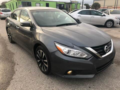 2018 Nissan Altima for sale at Marvin Motors in Kissimmee FL