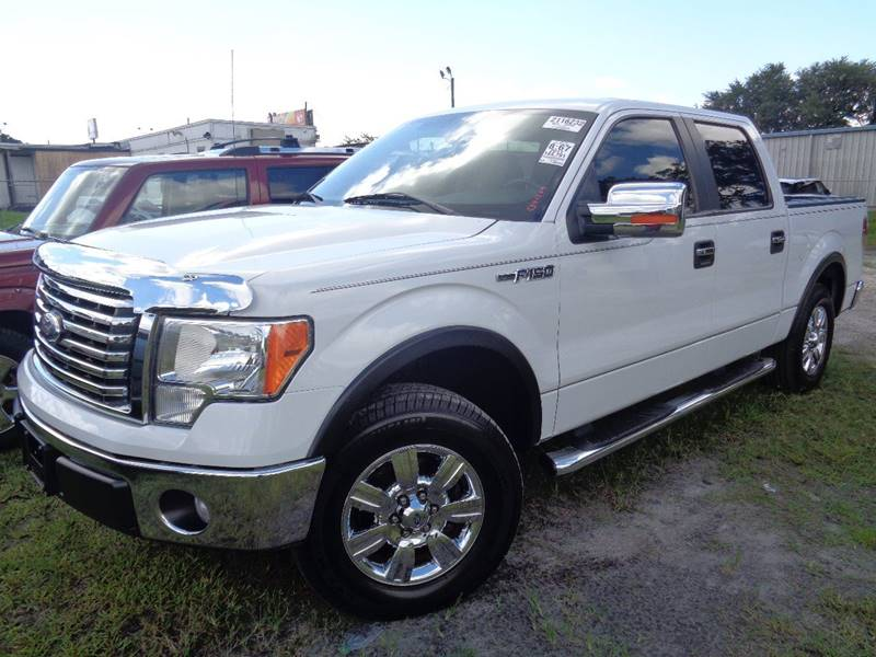 2011 FORD F-150 XLT 4X2 4DR SUPERCREW STYLESIDE white internet cash specialguaranteed f