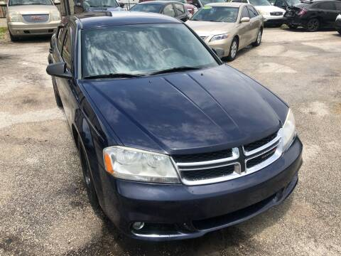 2014 Dodge Avenger for sale at Marvin Motors in Kissimmee FL