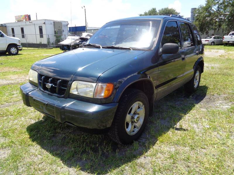 2001 KIA SPORTAGE BASE 2WD 4DR SUV gray nternet cash specialguaranteed financing avail