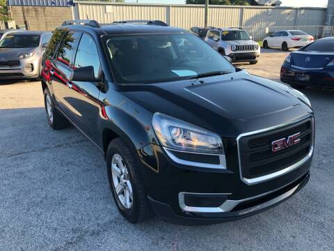 2016 GMC Acadia for sale at Marvin Motors in Kissimmee FL