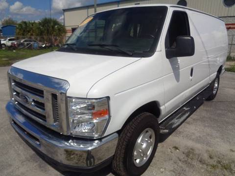 2012 Ford E-Series Cargo for sale at Marvin Motors in Kissimmee FL