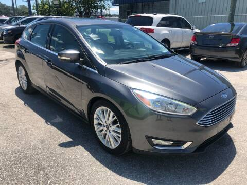 2017 Ford Focus for sale at Marvin Motors in Kissimmee FL