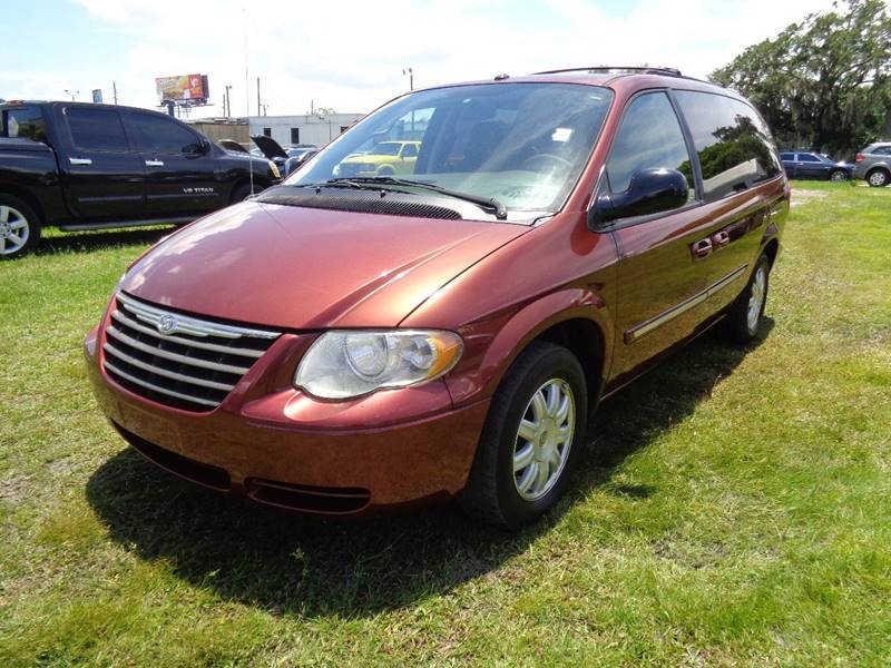 2006 CHRYSLER TOWN AND COUNTRY TOURING 4DR EXTENDED MINI VAN burgundy internet cash special