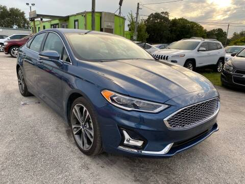 2019 Ford Fusion for sale at Marvin Motors in Kissimmee FL