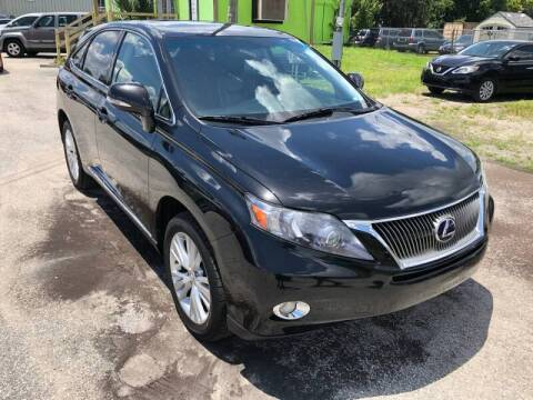 2012 Lexus RX 450h for sale at Marvin Motors in Kissimmee FL