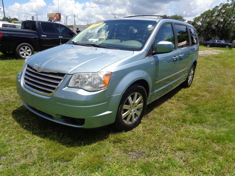 2009 CHRYSLER TOWN AND COUNTRY TOURING MINI VAN 4DR turquoise nternet cash specialguara