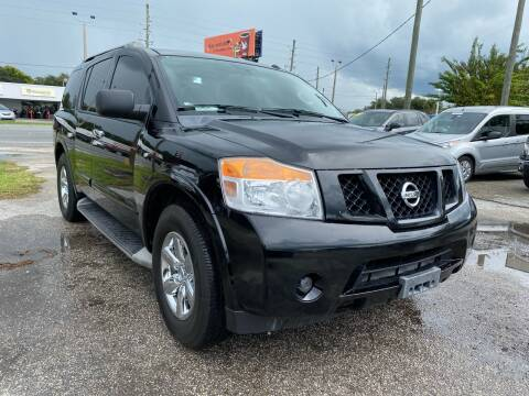2014 Nissan Armada for sale at Marvin Motors in Kissimmee FL