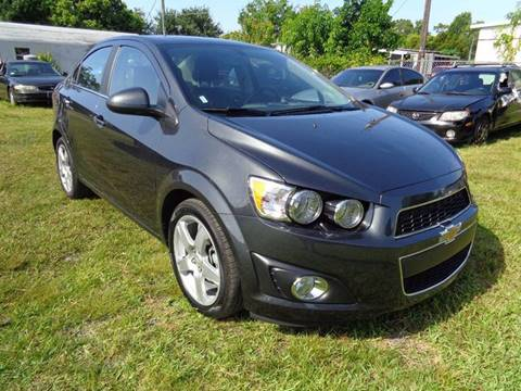 2016 Chevrolet Sonic for sale at Marvin Motors in Kissimmee FL