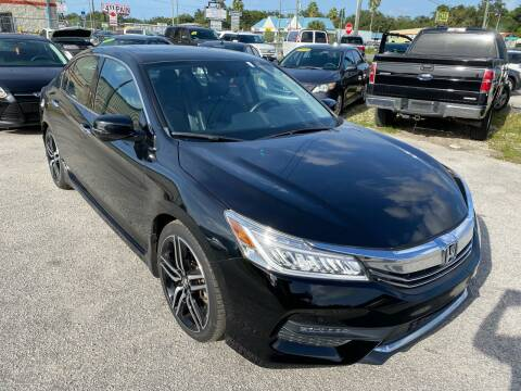 2017 Honda Accord for sale at Marvin Motors in Kissimmee FL
