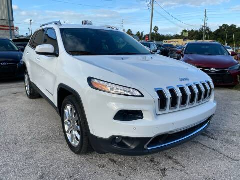 2014 Jeep Cherokee for sale at Marvin Motors in Kissimmee FL