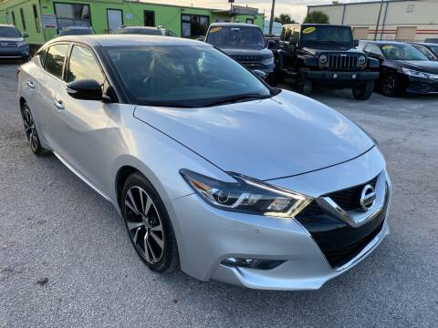2018 Nissan Maxima for sale at Marvin Motors in Kissimmee FL