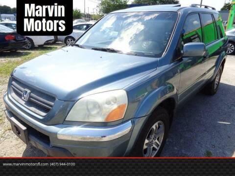 2005 Honda Pilot for sale at Marvin Motors in Kissimmee FL