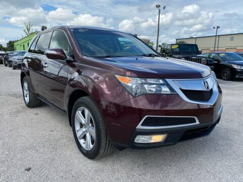 2010 Acura MDX for sale at Marvin Motors in Kissimmee FL