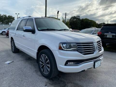 2015 Lincoln Navigator L for sale at Marvin Motors in Kissimmee FL