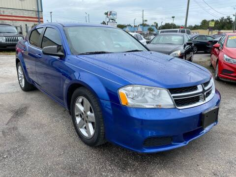 2013 Dodge Avenger for sale at Marvin Motors in Kissimmee FL