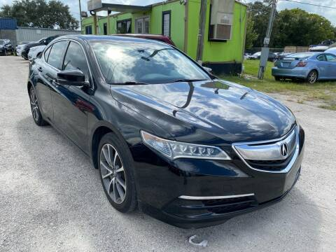 2015 Acura TLX for sale at Marvin Motors in Kissimmee FL