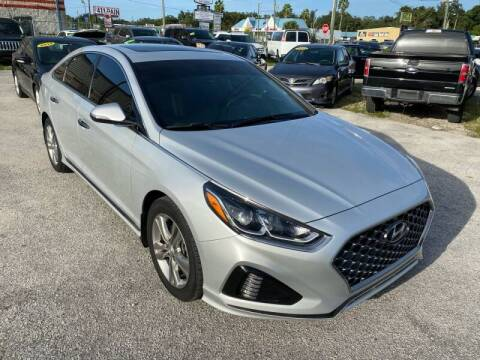 2018 Hyundai Sonata for sale at Marvin Motors in Kissimmee FL