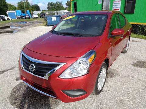 2016 Nissan Versa for sale at Marvin Motors in Kissimmee FL