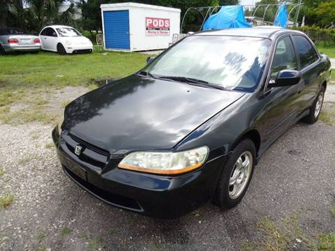 1999 Honda Accord for sale at Marvin Motors in Kissimmee FL