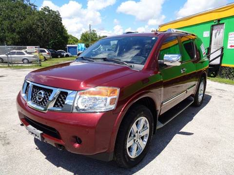 2010 Nissan Armada for sale at Marvin Motors in Kissimmee FL