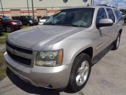 2007 Chevrolet Suburban for sale at Marvin Motors in Kissimmee FL