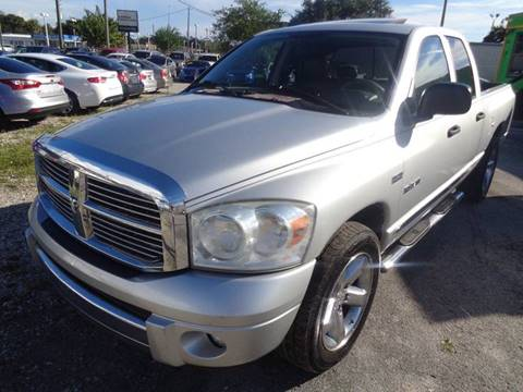 2008 Dodge Ram Pickup 1500 for sale at Marvin Motors in Kissimmee FL