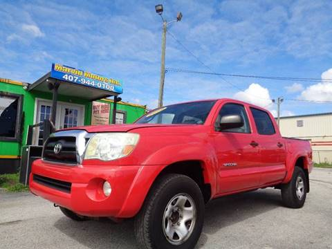 2006 Toyota Tacoma for sale at Marvin Motors in Kissimmee FL
