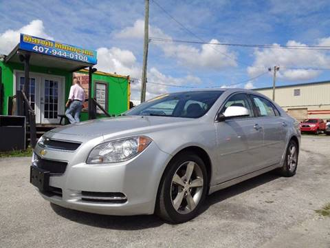2012 Chevrolet Malibu for sale at Marvin Motors in Kissimmee FL