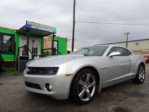 2010 Chevrolet Camaro for sale at Marvin Motors in Kissimmee FL